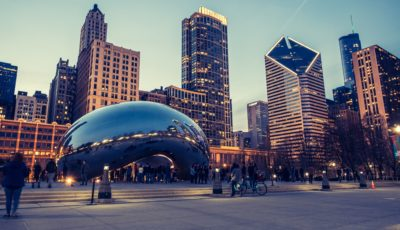 Cloud Gate public sculpture